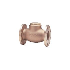 キッツ 青銅・黄銅バルブ スイングチャッキ OB型 JIS規格品 4インチ(100A) OB-4