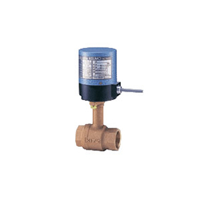 キッツ 電動バルブ 青銅製ボールバルブ EA100-TLE型 3/4インチ(20A) EA100-TLE-3/4