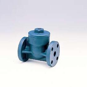 旭有機材工業 スイングチェックバルブ HI-PVC製 シート:FKM 150A VSCORIVF150
