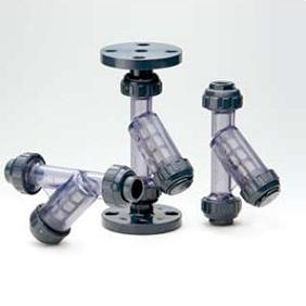 旭有機材工業 自在型ストレーナー(Y形) ねじ込み形 15A VYS4UUVNJ015