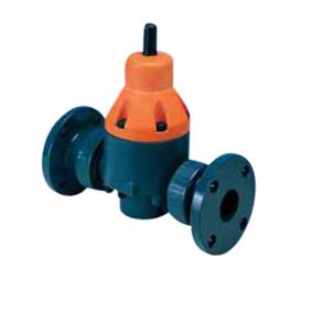 エスロン 定圧弁 PVC製 フランジ式 20A FVET20