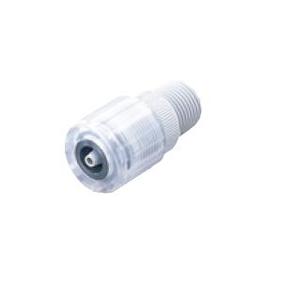 タクミナ ねじ式ホース継手 PVC製 4PVC-R1-PVC