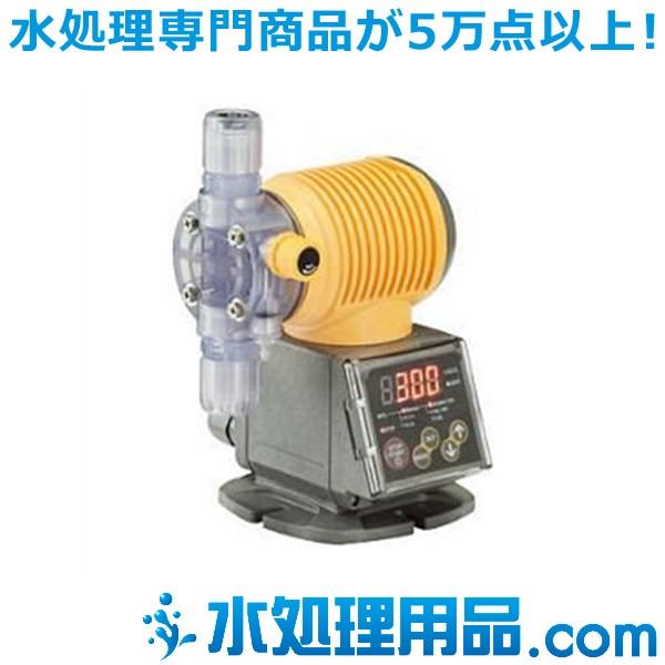 タクミナ ソレノイド駆動式ダイヤフラム定量ポンプ タイマータイプ PWT-60-FTCE-HWJ