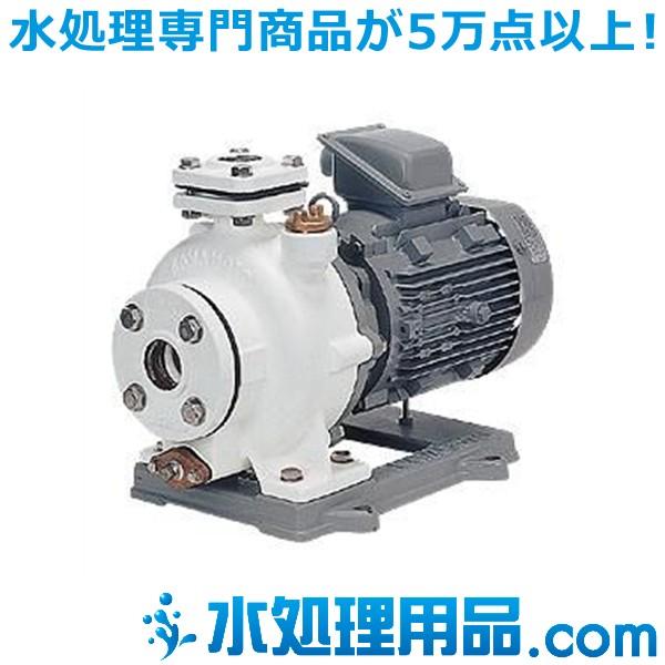 川本ポンプ 小型多段タービンポンプ(ナイロンコーティング品) 2極 KN(2)-C形 60Hz KN2-406-C1.5