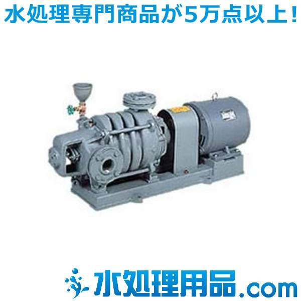 川本ポンプ タービンポンプ(多段うず巻) 4極 50Hz T-1255×2-MN15