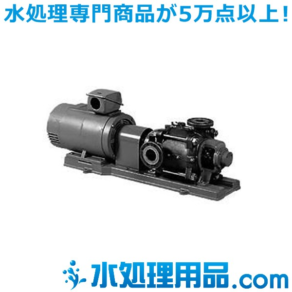 川本ポンプ ステンレス製高揚程タービンポンプ 2極 KR-M形 50Hz KR-1005M×3-M55