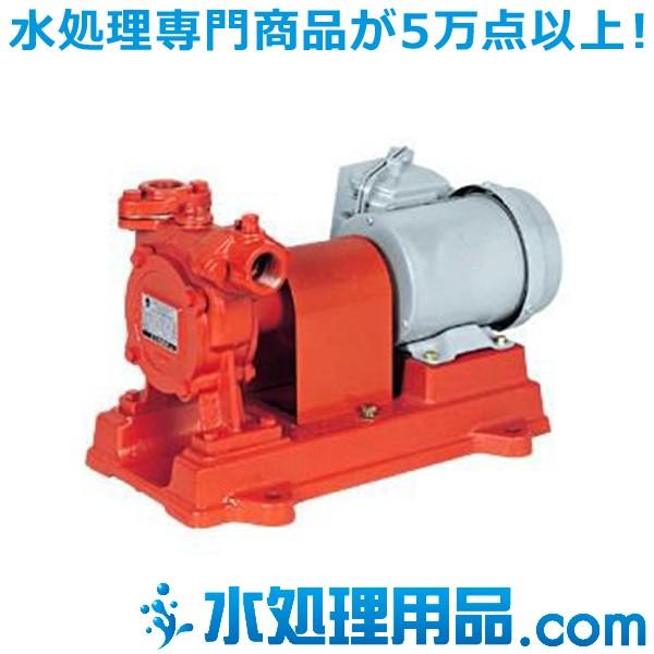 川本ポンプ 自吸オイルポンプ(うず流ポンプ) 2極 OC形 50Hz OC-255-M0.4