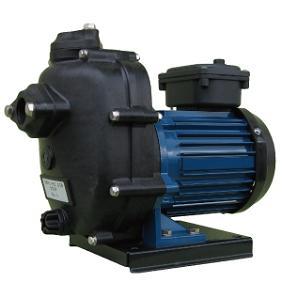 寺田ポンプ製作所 陸上ポンプ 樹脂製 直動自吸式 CMP形 60Hz モーター付き CMP2-60.4R