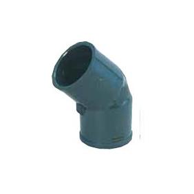 エスロン 45°エルボ HI管 150A UP-HI45L150