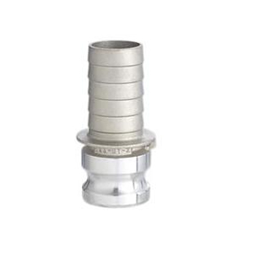 フィットトヨックス カムロックアダプター ホースシャンク(樹脂ホース用)  アルミ合金製 6インチ 633-ET-6A
