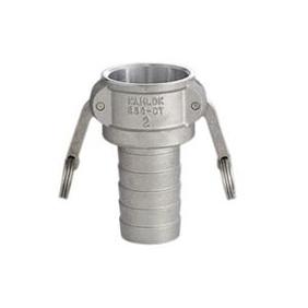 フィットトヨックス カムロックカプラー ホースシャンク(樹脂ホース用) アルミ合金製 5インチ 633-CT-5A