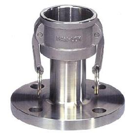 フルネスジャパン MAX-LOK フランジカプラー(JIS10kg) アルミニウム製 1.5インチ MAX-FC-1.5A