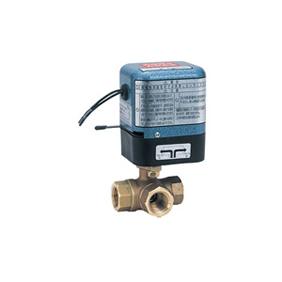 キッツ 電動バルブ 青銅製ボールバルブ(三方) EAE200-TNE型 スプリングリターン 1/4インチ(8A) EAE200-TNE-1/4