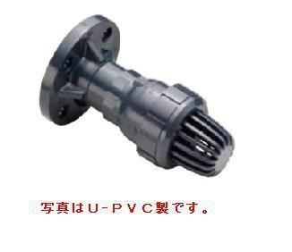 旭有機材工業 ボールフートバルブ C-PVC製 フランジ形 80A VFTZZCEF080