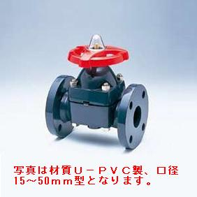 旭有機材工業 ダイヤフラムバルブ14型 U-PVC製 20A V14MHUEF10201
