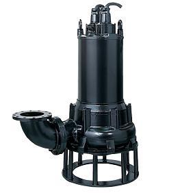 ツルミポンプ 水中ハイスピンポンプ ベンド仕様 U型 6極形 150U615H