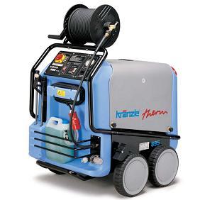 クランツレ モーター式温水高水圧洗浄機 サーム 895 60Hz