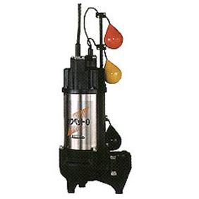 川本ポンプ 強化樹脂製汚水・汚物水中ポンプ WUO形 50Hz 自動交互内蔵型 フランジタイプ WUO-655-3.7LNG