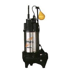 川本ポンプ 強化樹脂製汚水・汚物水中ポンプ WUO形 60Hz 自動型 フランジタイプ WUO-506-1.5LG