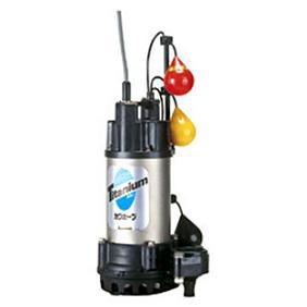 川本ポンプ チタン製水中ポンプ WUZ形 50Hz WUZ3-405-0.25TLG