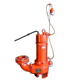 エレポン カッター付汚物水中ポンプ(自動運転型) SFDII形 60Hz SFDII-12L