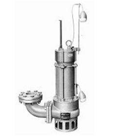 エレポン ノンクロッグ汚物水中ポンプ(自動運転型) OSDII形 60Hz OSDII-33