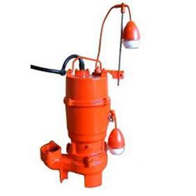 エレポン 渦流型汚物水中ポンプ(自動運転型) 2極式 KVDII形 60Hz KVDII-250-2T