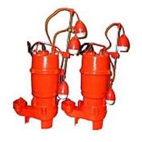 エレポン 渦流型汚物水中ポンプ(自動交互運転型) 2極式 KVDNII形 60Hz KVDNII-250-2T