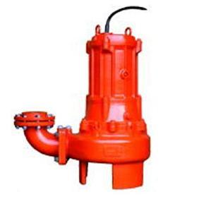 エレポン 渦流型汚物水中ポンプ 4極式 KVII-L形 60Hz KVII-54L   水中ポンプ 排水ポンプ 揚水ポンプ 汚水ポンプ 汚水槽 排水槽 汚水 排水 浄化槽 揚水 汲み上げ 残水 雑排水 井戸水 揚程 水中 送水ポンプ 汚物ポンプ 雑用水 雑排水ポンプ ノンクロッグタイプ 地下水