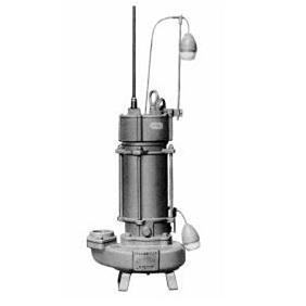 エレポン 渦流型汚物水中ポンプ(自動運転型) 4極式 KVDII-L形 60Hz KVDII-400L-2T