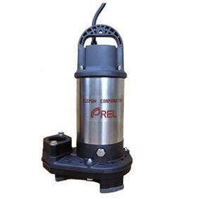 エレポン 樹脂製小型汚物水中ポンプ EP形 50Hz EP-400-2T | 水中ポンプ 排水ポンプ 揚水ポンプ 汚水ポンプ 汚水槽 排水槽 汚水 排水 浄化槽 揚水 汲み上げ 残水 雑排水 井戸水 揚程 水中 送水ポンプ 汚物ポンプ 雑用水 雑排水ポンプ ノンクロッグタイプ 地下水