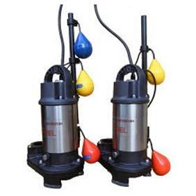 エレポン 樹脂製小型汚物水中ポンプ(自動交互運転型) EP-DN形 60Hz EP-400-2TDN | 水中ポンプ 排水ポンプ 揚水ポンプ 汚水ポンプ 汚水槽 排水槽 汚水 排水 浄化槽 揚水 残水 雑排水 井戸水 水中 送水ポンプ 汚物ポンプ 雑用水 雑排水ポンプ ノンクロッグタイプ 地下水