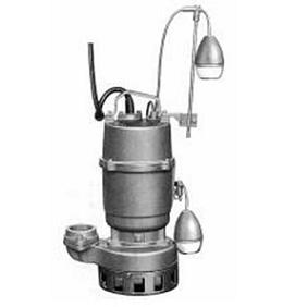 エレポン 汚水・汚物水中ポンプ(自動運転型) KWDII形 60Hz KWDII-22B