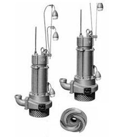 エレポン 中型汚水水中ポンプ(自動交互運転型) KMDNII形 50Hz KMDNII-32B