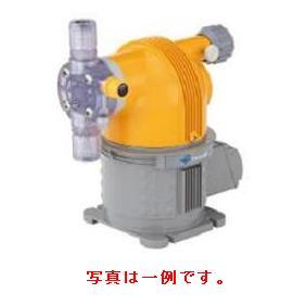 タクミナ モータ駆動式定量ポンプ 次亜塩素酸ナトリウム用 簡易リリーフ弁付き CLCSII-100R-ATCF-HW-100V1-Y-C-S