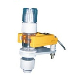 タクミナ 流れ表示器 ポンプ直結型 PVCホース用 光電センサー付き UNO498