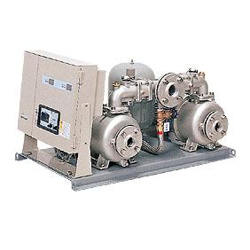 川本ポンプ ステンレス製給水ユニット ポンパー KF2形 KF2-32P0.4T