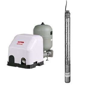 川本ポンプ 水中ポンプ付き自動運転ユニット ポンパー USFE形 US2形ポンプセット USFE32S2.2