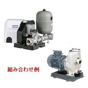 川本ポンプ 陸上ポンプ付き自動運転ユニット ポンパー LFE形 GSN-C形ポンプセット LFE40S1.5