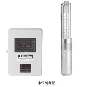 川本ポンプ 深井戸用水中ポンプ ディーパー USL形 60Hz USL-456SR
