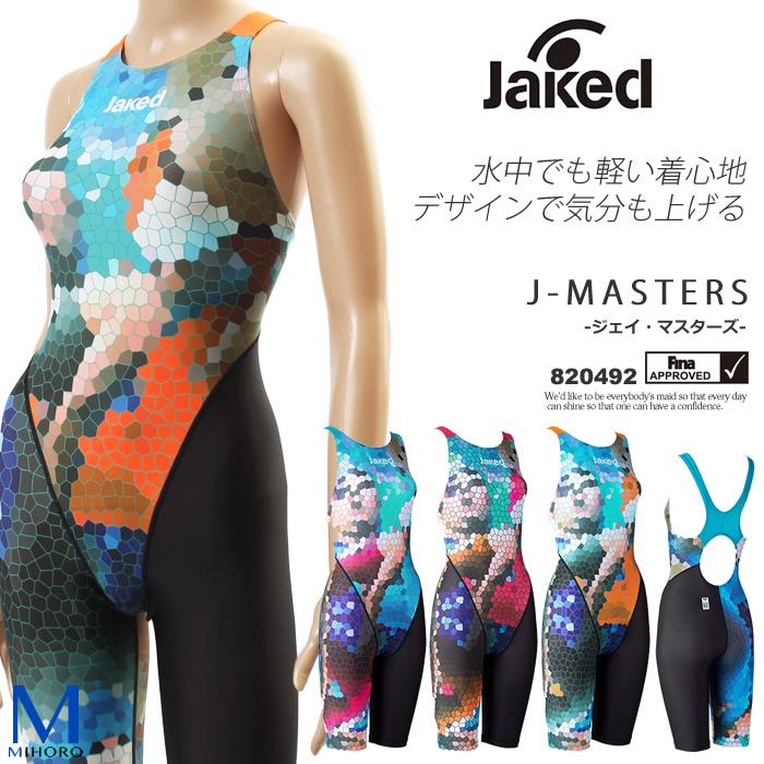 FINAマークあり レディース 競泳水着 女性 jaked ジャケッド 820492