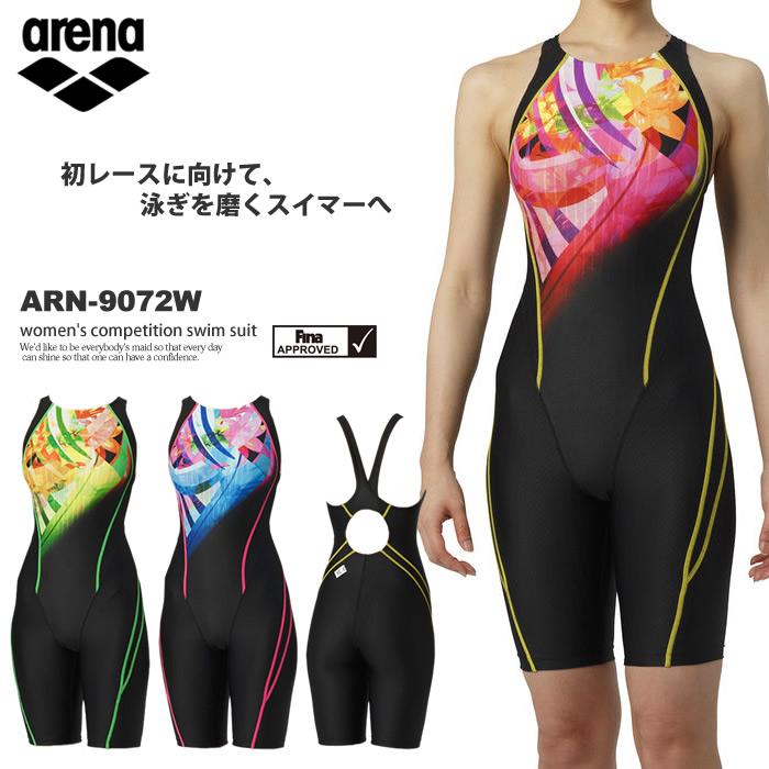 FINAマークあり レディース 競泳水着 arena アリーナ ARN-9072W