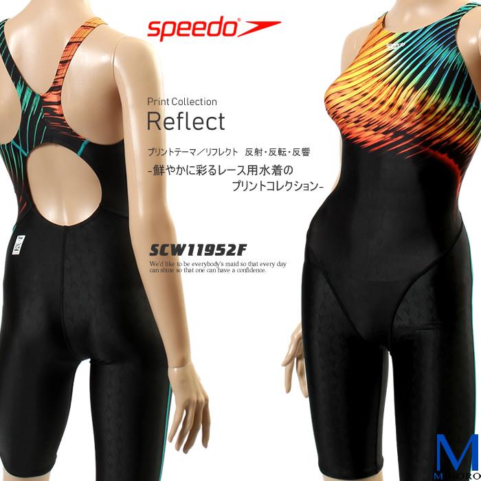 FINAマークあり レディース 競泳水着 女性 speedo スピード SCW11952F