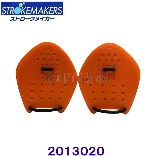 ソルテック SOLTEC 日本製 [宅送] ストロークメーカー 販売 STROKEMAKERS パドル 2013020 0.5サイズ 水泳トレーニング オレンジ