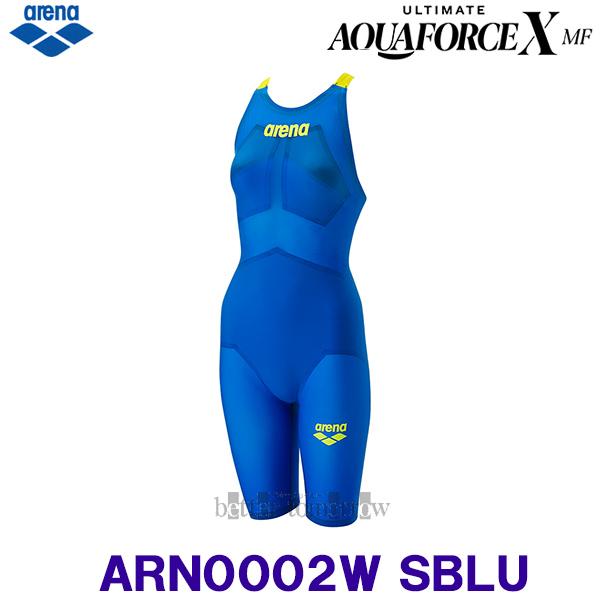 アリーナ 競泳水着 レディース Mサイズ ARN0002W Sブルー×イエロー SBLU アルティメット・アクアフォースX MF モーションフリー/2020FW