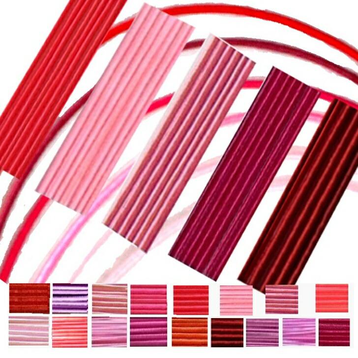 新作からSALEアイテム等お得な商品満載 ストア 水引素材赤ピンク系の中からお好きな色をご選択 カラーも豊富 手芸やラッピング 水引細工や水引アクセサリー製作に 水引 絹巻水引 花水引 糸巻水引 90cm×100本入 水引アクセサリー製作材料 日本製 水引素材 1色100本 水引き材料 水引髪飾り プロ仕様 ピンク赤 mizuhiki
