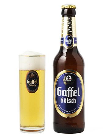 [本場の味]ドイツビール  ガッフェル ケルシュ 330ml(瓶)×24本【送料無料】(代引き不可)
