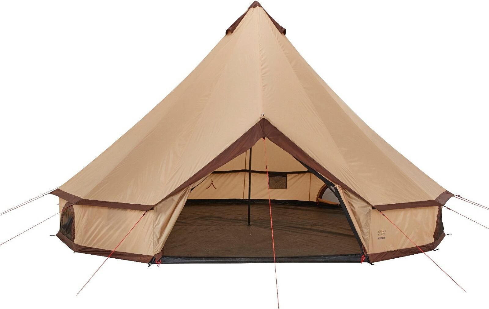 【正規代理店】【新ロゴ製品】 indiana-500 602020 床と一体化のテント 10人用 GRAND CANYON アウトドア キャンプ グランドキャニオン ベージュトレッキング ハイキング キャンピング 簡単な設営 広々としたスペース ノルディスク NORDISK