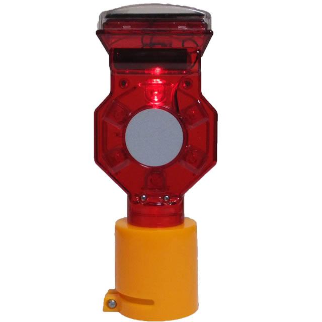 工事現場の安全に 新作入荷 ソーラー充電式 工事灯 作業灯赤回転点灯 送料無料 ソーラー式 取付け金具 今ダケ送料無料 50個セット 赤LED なし 工事灯バイス
