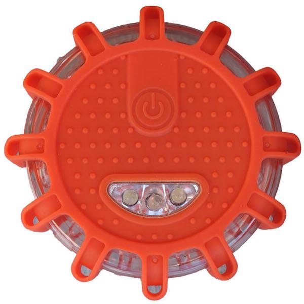 記念日 販売期間 限定のお得なタイムセール 夜間や暗い場所での作業に最適 LED警告灯電池式〈赤色〉
